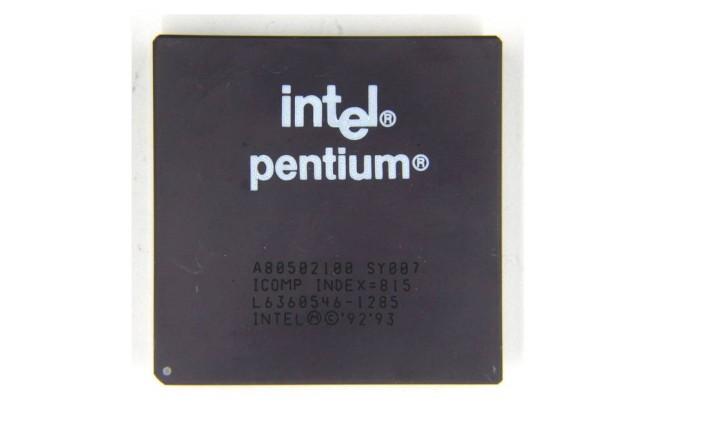 Pentium Foto: Wikimedia