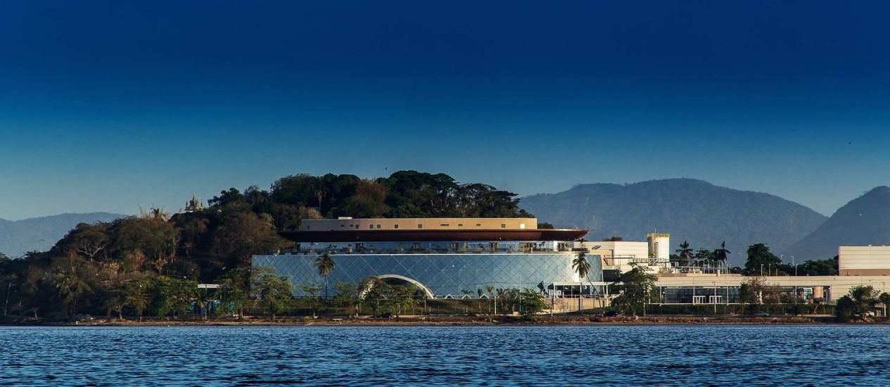 Inaugurado. Centro global está localizado na Ilha do Bom Jesus, ao lado da Ilha do Fundão. Foto: Divulgação