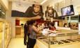 Loja do Centro do Rio, com fluxo de 2,8 mil clientes por mês, é vista como principal vitrine da marca
