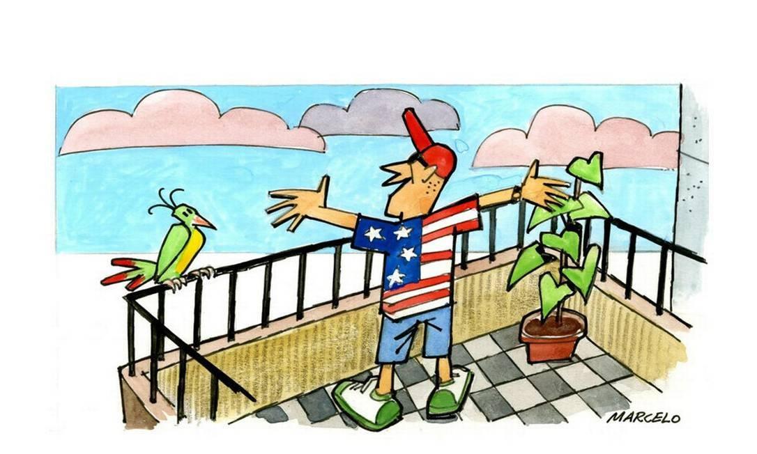 Vista com espaço. É a preferência de americanos e australianos Foto: Marcelo