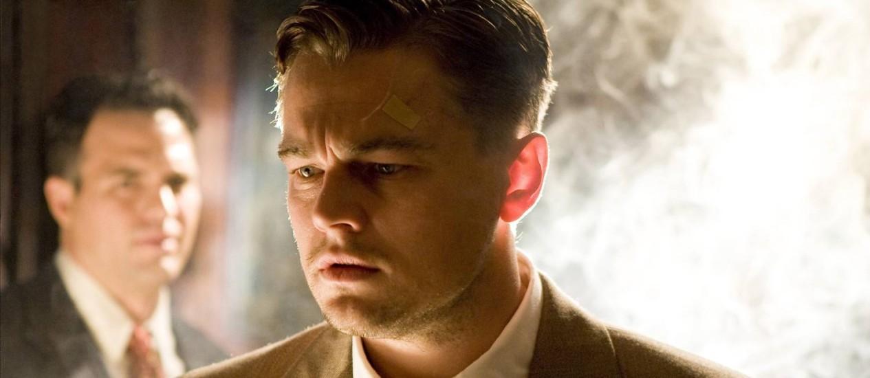 Filme 'Ilha do medo', com Leonardo Di Caprio, vai virar série da HBO Foto: Agência O Globo