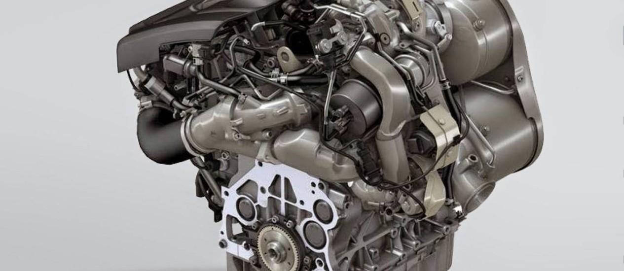 Novo motor 2.0 diesel de 270cv Foto: Divulgação