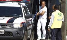 Marcos Valério em Minas: em maio, ele foi transferido para o presídio Nelson Hungria Foto: Samuel Costa/Jornal Hoje em Dia/28-05-2014