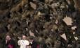 O Papa Francisco em discurso na Associação de Médicos Católicos da Itália, no Vaticano