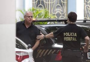 Ex-diretor da Petrobras, Renato Duque negociava propina com os altos dirigentes das empresas ao lado de Paulo Roberto Costa Foto: Márcia Foletto / Agência O Globo
