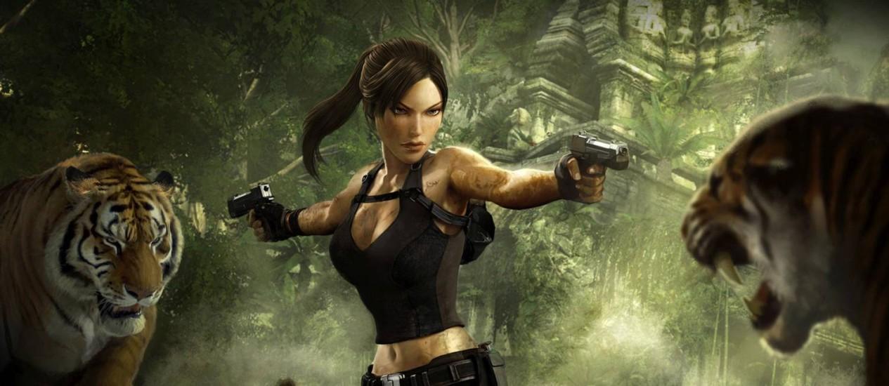 """Lara Croft de """"Tomb Raider"""": governo sueco está preocupado com a representação feminina nos games Foto: Reprodução"""