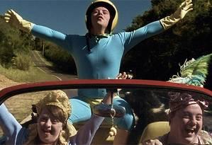 Imagem do filme 'Colegas', cujos protagonistas têm Síndrome de Down Foto: Reprodução da internet