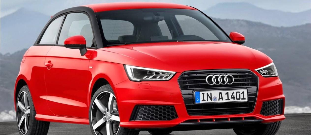 Audi A1 ganha motor de três cilindros Foto: Divulgação