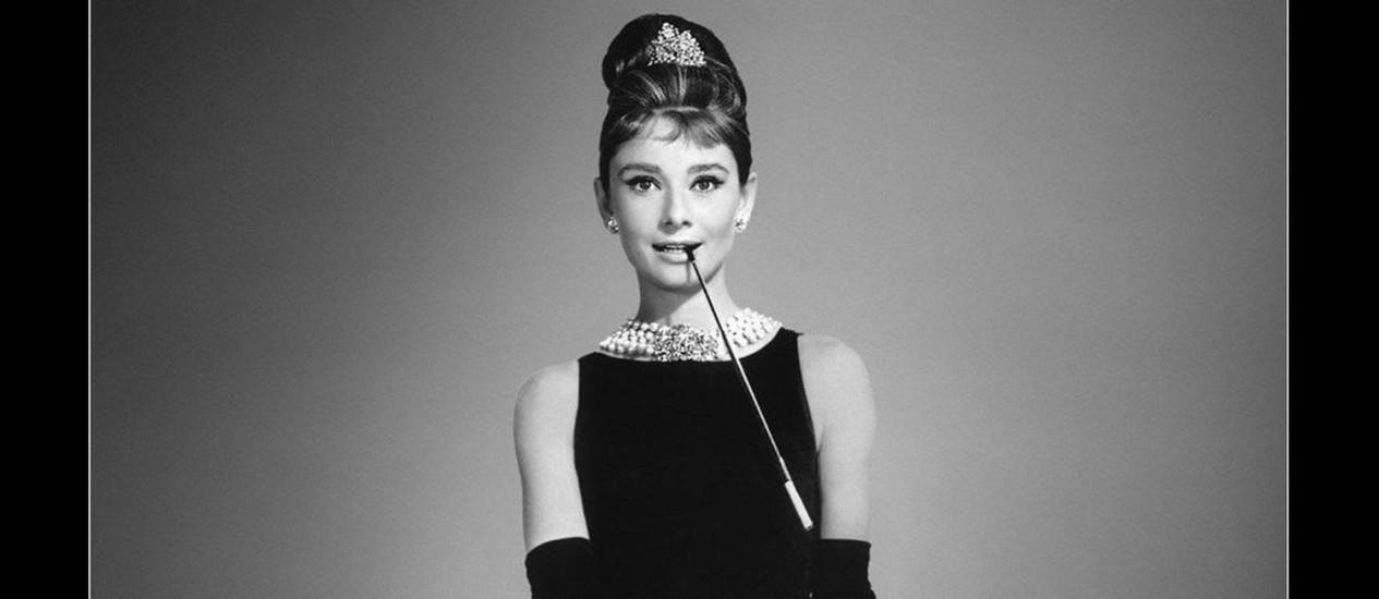 """Audrey Hepburn, em """"Bonequinha de luxo"""", vestindo Givenchy Foto: Divulgação"""