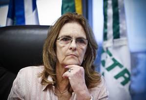 Graça Foster, presidente da Petrobras Foto: Guito Moreto/ Arquivo O Globo 25-03-2014