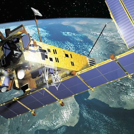 Satélite lançado em maio teria feito manobras complexas e confusas, segundo observadores Foto: Agência O Globo