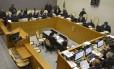 Sessão do Superior Tribunal de Justiça