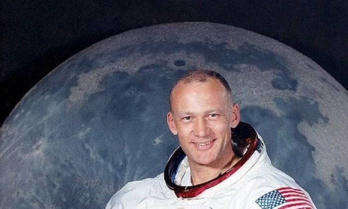 O astronauta Buzz Aldrin Foto: Nasa