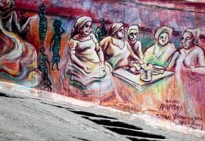 Navio negreiro. Culinária, samba e cultura na Pedra do Sal