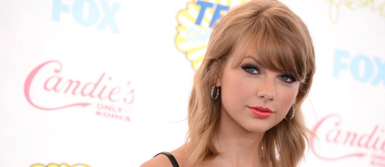Taylor Swift no Teen Choice Awards 2014: risco à vista Foto: Jordan Strauss/Invision/AP