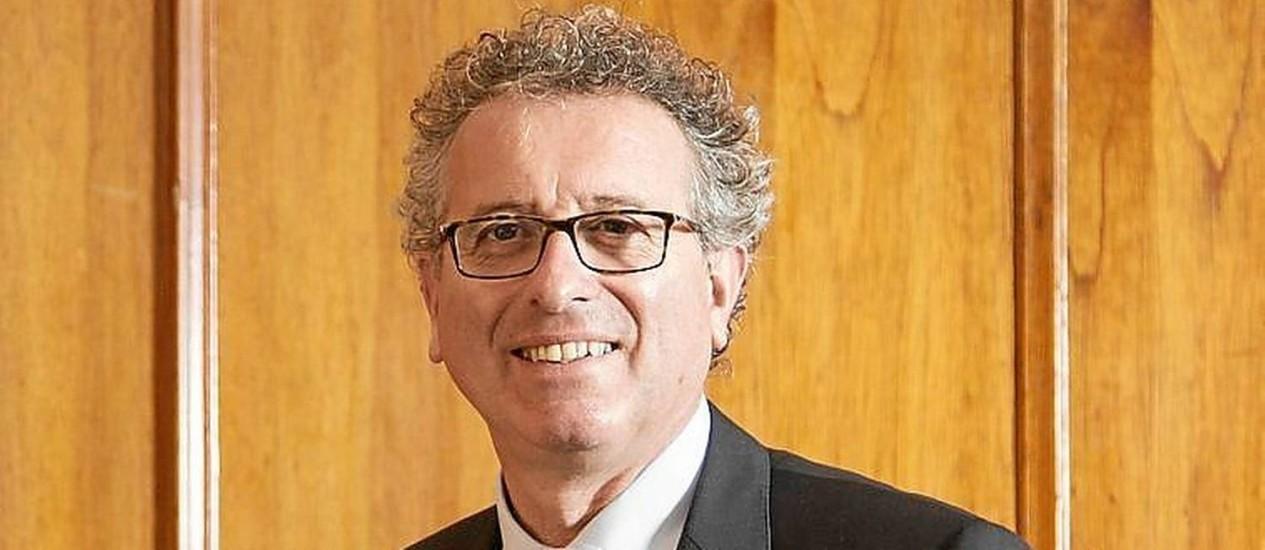 """Gramegna, ministro de Finanças: """"Não somos um paraíso fiscal"""" Foto: Leo Martins / Leo Martins"""