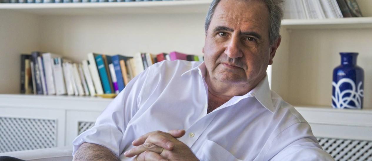 Pierre Rosanvallon, historiador:'A nova revolução é a do bom governo' Foto: Ivo Gonzalez / Ivo Gonzalez