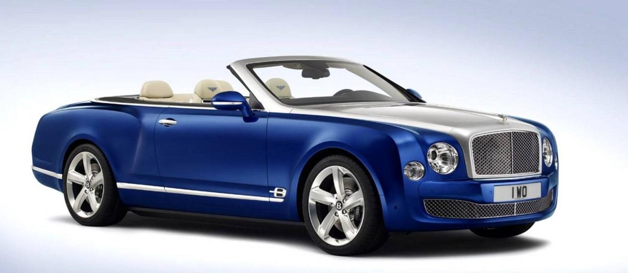 Bentley Grand Convertible Foto: Divulgação