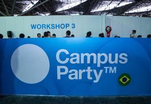 A Campus Party 2015 acontece entre os dias 3 e 8 de fevereiro Foto: Divulgação