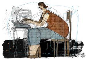 Ilustração de André Mello Foto: Reprodução