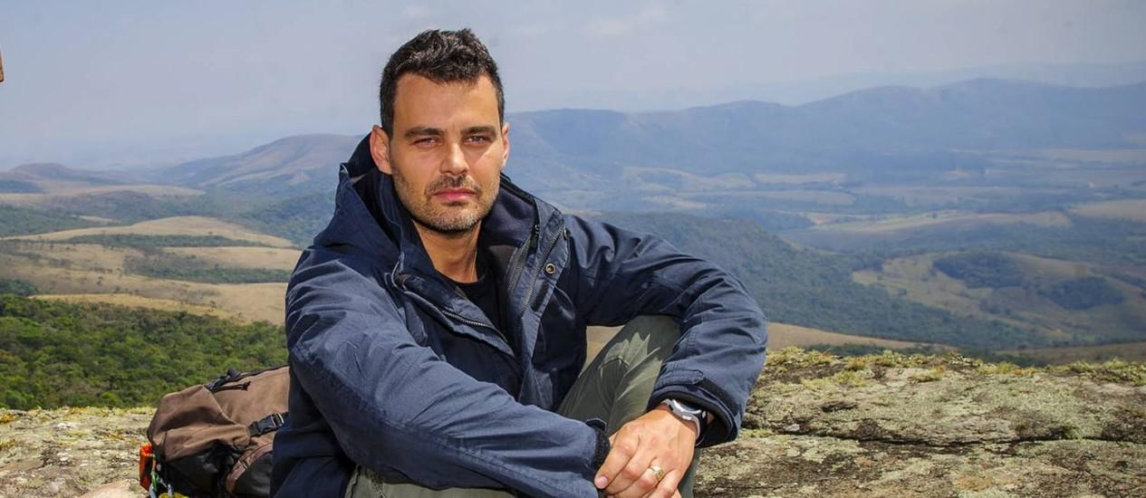 Carmo Dalla Vecchia em cena de 'Império' Foto: Alex Carvalho / TV Globo