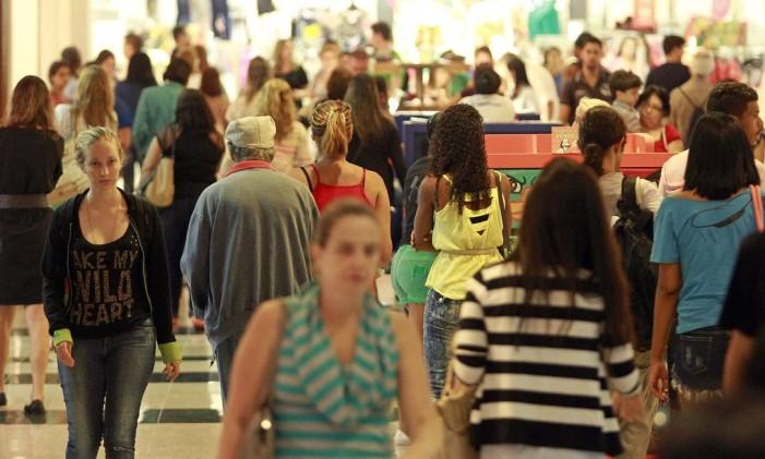 Plaza Shopping Foto: Márcio Alves / Agência O Globo