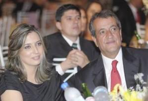 Comemoração. Valdemar e Dana em evento Foto: DIVULGAÇÃO/DIÁRIO DE SUZANO