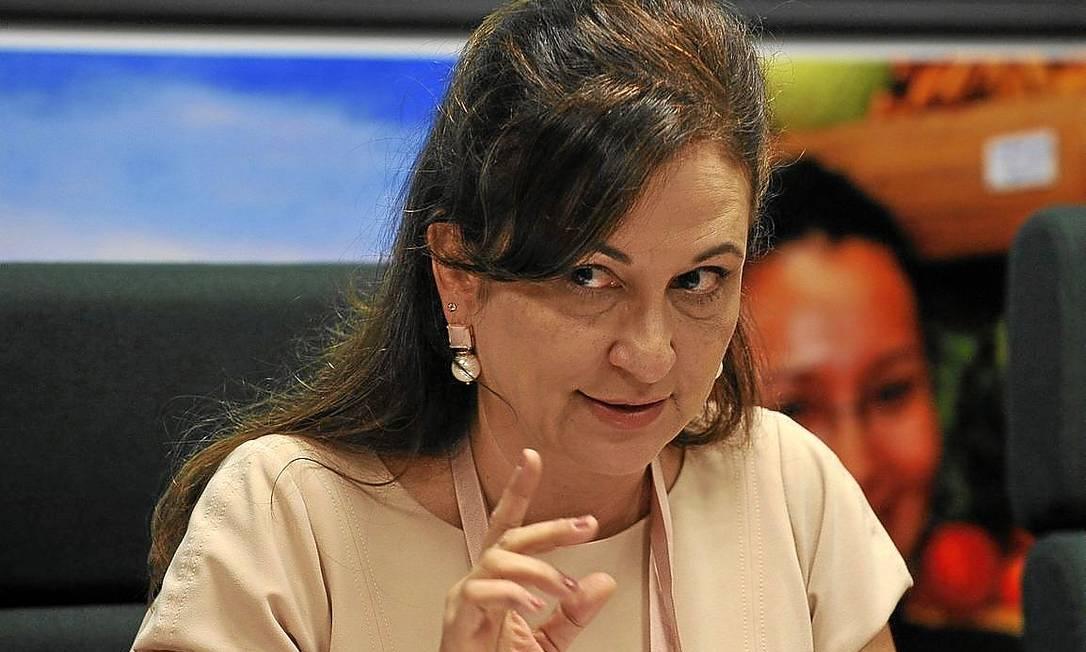 Ruralista. Opositora de Lula, Kátia Abreu se aproximou de Dilma durante a discussão do marco regulatório dos portos Foto: Valter Campanato/ABr