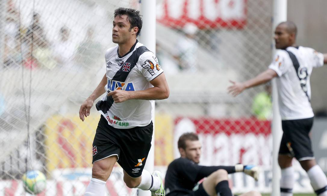 Kléber abriu o placar contra o Icasa ainda no primeiro tempo Foto: Ivo Gonzalez / Agência O Globo