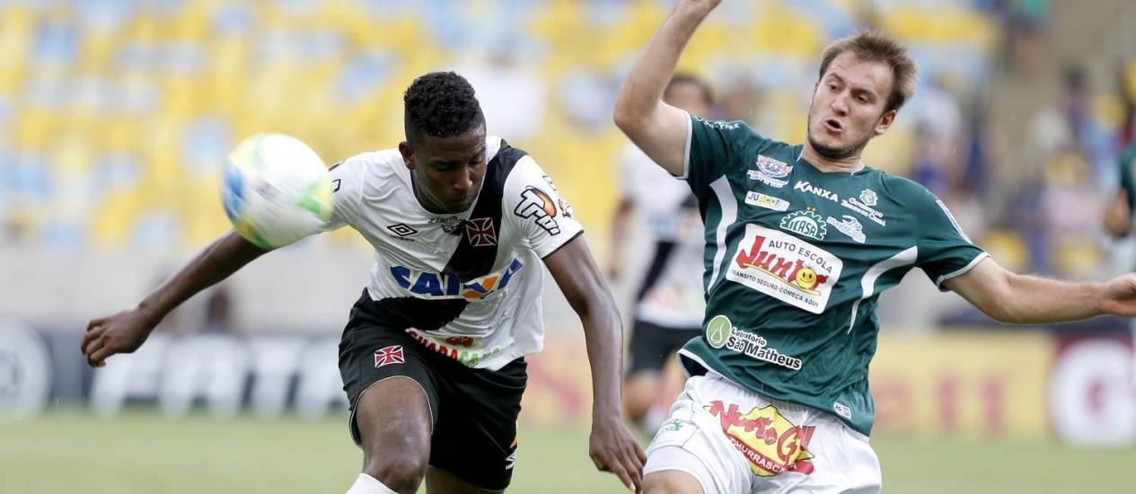 O Vasco empatou com o Icasa em 1 a 1 e garantiu o acesso à Série A Foto: Ivo Gonzalez / Agência O Globo