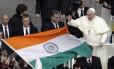 Ritual de canonização contou com a presença de 5 mil católicos indianos