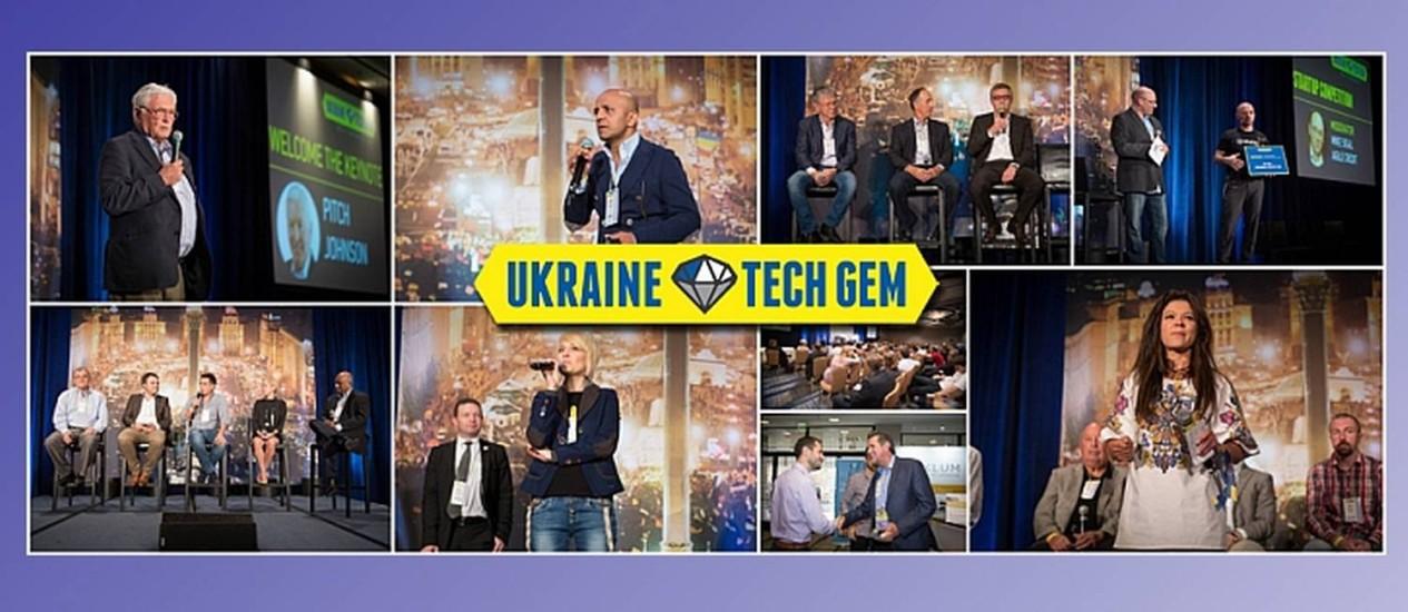 A Ucrânia está despontando como um centro tech, motivando promoções de eventos no setor até nos EUA, como o Ukraine Tech Gem Foto: Reprodução