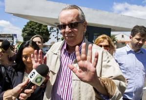 Adarico Negromonte Filho chega à PF de Curitiba para se entregar Foto: Terceiro/Paulo Lisboa - Brazil Photo Press / Agência O Globo
