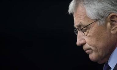 Hagel: Obama quer nova abordagem para combater o Estado Islâmico Foto: AFP