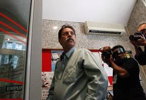 O ex tesoureiro do PT, Delúbio Soares é um dos réus do chamado processo do Mensalão Foto: ANDRE COELHO/Agencia O Globo / Agência O Globo - Arquivo (30/09/2014)