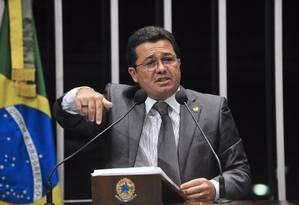 A indicação do senador enfraquece as chances da petista Ideli Salvatti Foto: Agência Senado - Arquivo (06/04/2014)