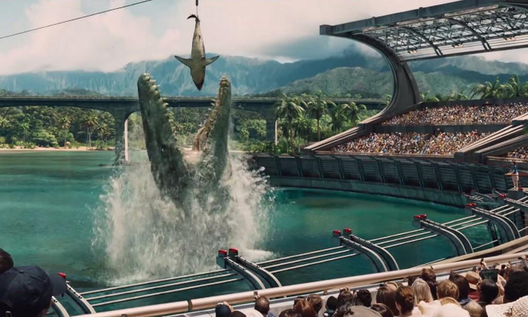 Veja o primeiro trailer de 'Jurassic World'
