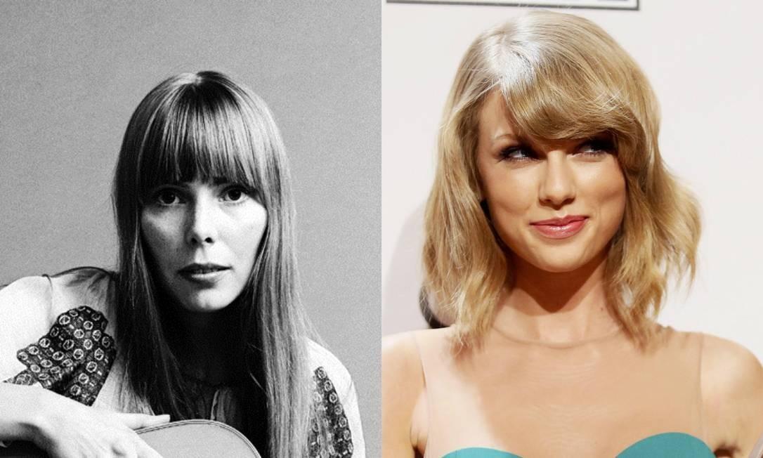 Joni Mitchell revela ter barrado filme em que seria vivida por Taylor Swift