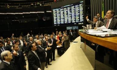 Congresso colocou em votação nesta terça-feira 38 vetos presidenciais Foto: Ailton de Freitas / O Globo