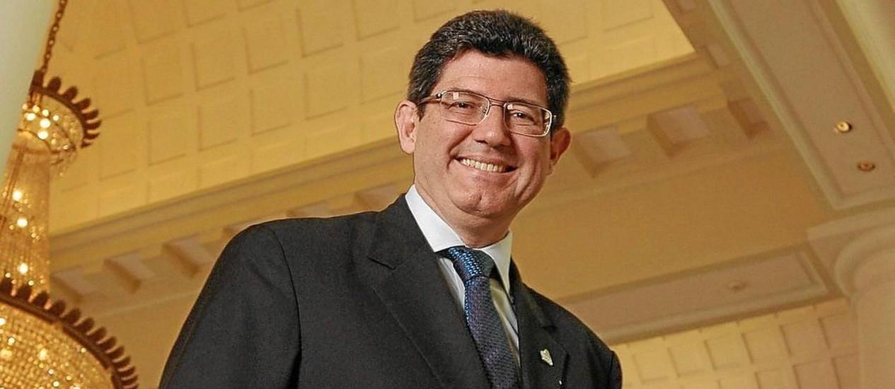 Levy (foto) será apresentado para o Ministério da Fazenda e Nelson Barbosa, para o Planejamento Foto: Leo Pinheiro/Valor/11-5-2010