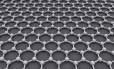 Estrutura do grafeno, substância em camada monomolecular feita de carbono e pode ser a chave para a revolução verde