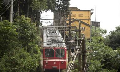 O trem: ICM-Bio, que autorizou reajuste, terá que explicar aumento do bilhete, de R$ 51 para R$ 62 Foto: Márcia Foletto / Agência O GLOBO