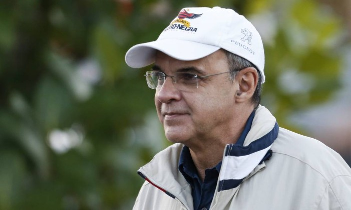 O presidente do Flamengo, Eduardo Bandeira de Mello Foto: Guito Moreto / Guito Moreto/30-7-2014