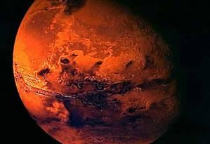 Ação está marcada para as 18h Foto: REUTERS/Ho/European Space Agency ESA