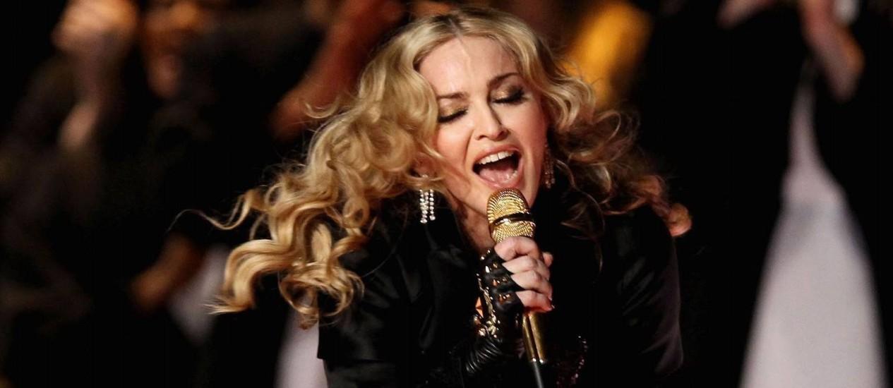 A cantora Madonna Foto: AP