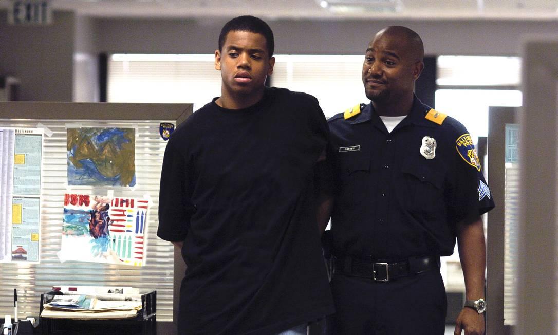 """Cena de """"The Wire"""": série usa realismo para representar conflitos entre policiais e traficantes/Divulgação Foto: / Divulgação"""