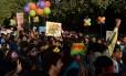 Macha é a primeira desde que a Suprema Corte indiana ressuscitou lei da era colonial que bania casamento entre pessoas do mesmo sexo