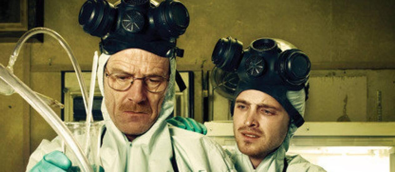 Imagem da série 'Breaking bad': na Espanha, professor flagrado fabricando drogas já tinha deixado profissão Foto: Reprodução da internet