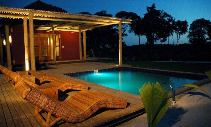 Casa de praia em Trancoso, na Bahia Foto: Divulgação