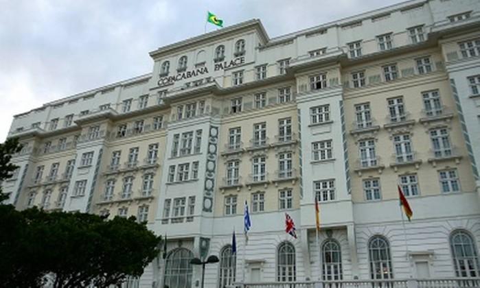 O hotel Copacabana Palace, na Zona Sul do Rio Foto: André Teixeira / O Globo